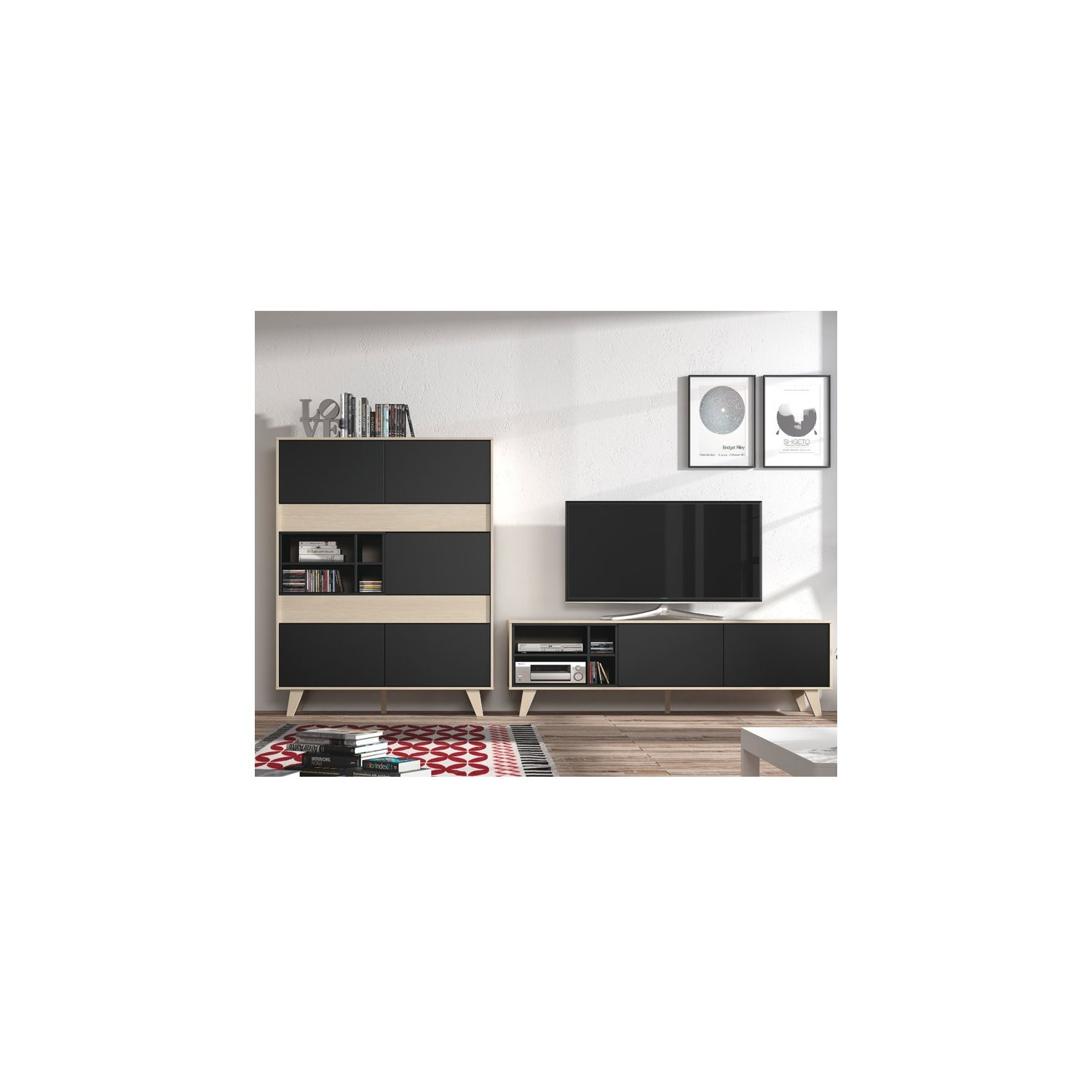 buffet pas cher achetez online buffet moderne. Black Bedroom Furniture Sets. Home Design Ideas