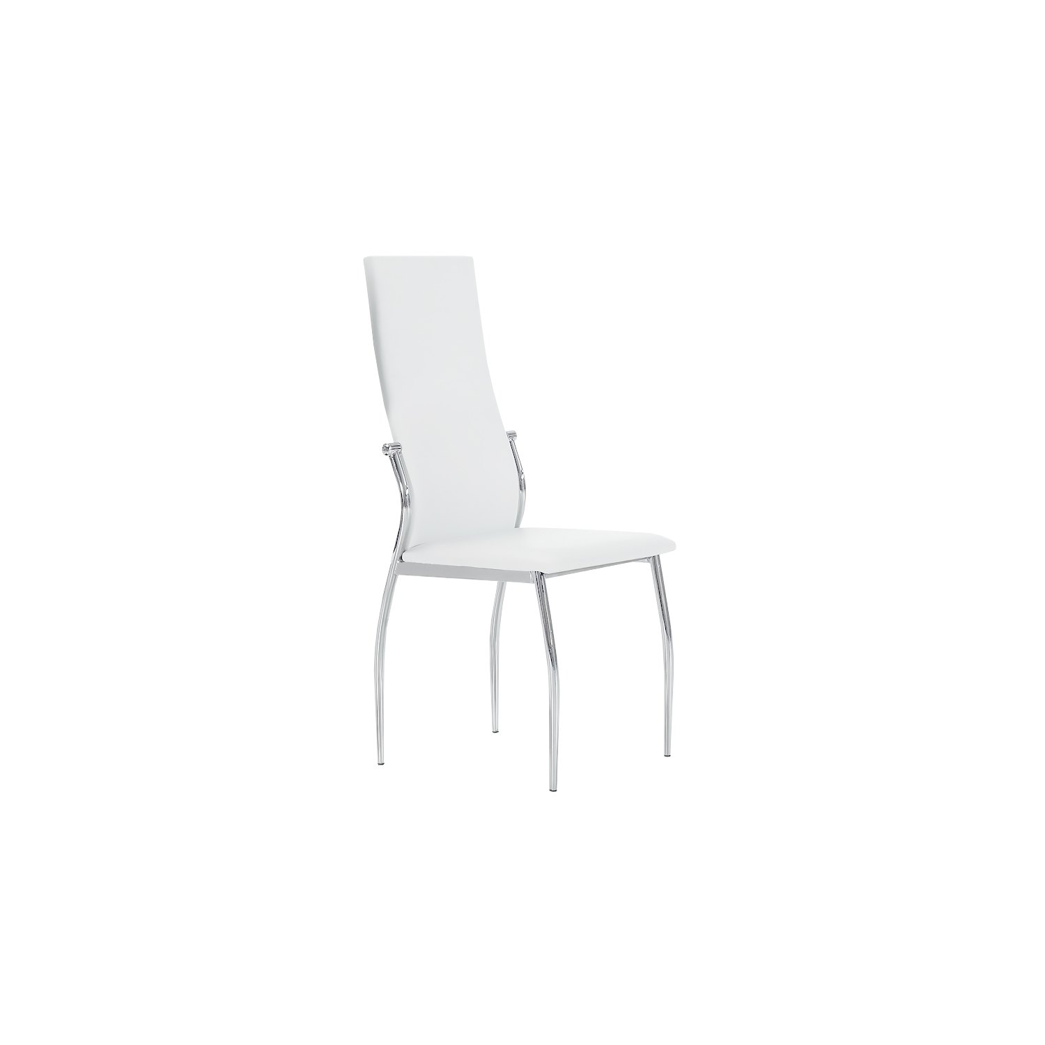 Comprar silla tapizada barata dise o boston blanca por for Sillas salon blancas
