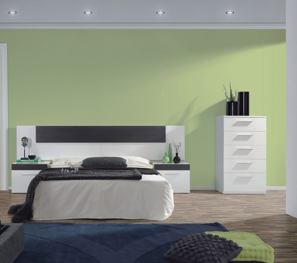 t te de lit avec tables de nuit tempus 92 30. Black Bedroom Furniture Sets. Home Design Ideas