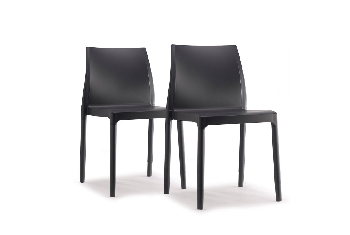 PACK DE 2 CHAISES CHISCA
