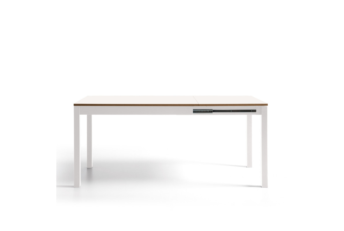TABLE PALMA BLANCHE EXTENSIBLE